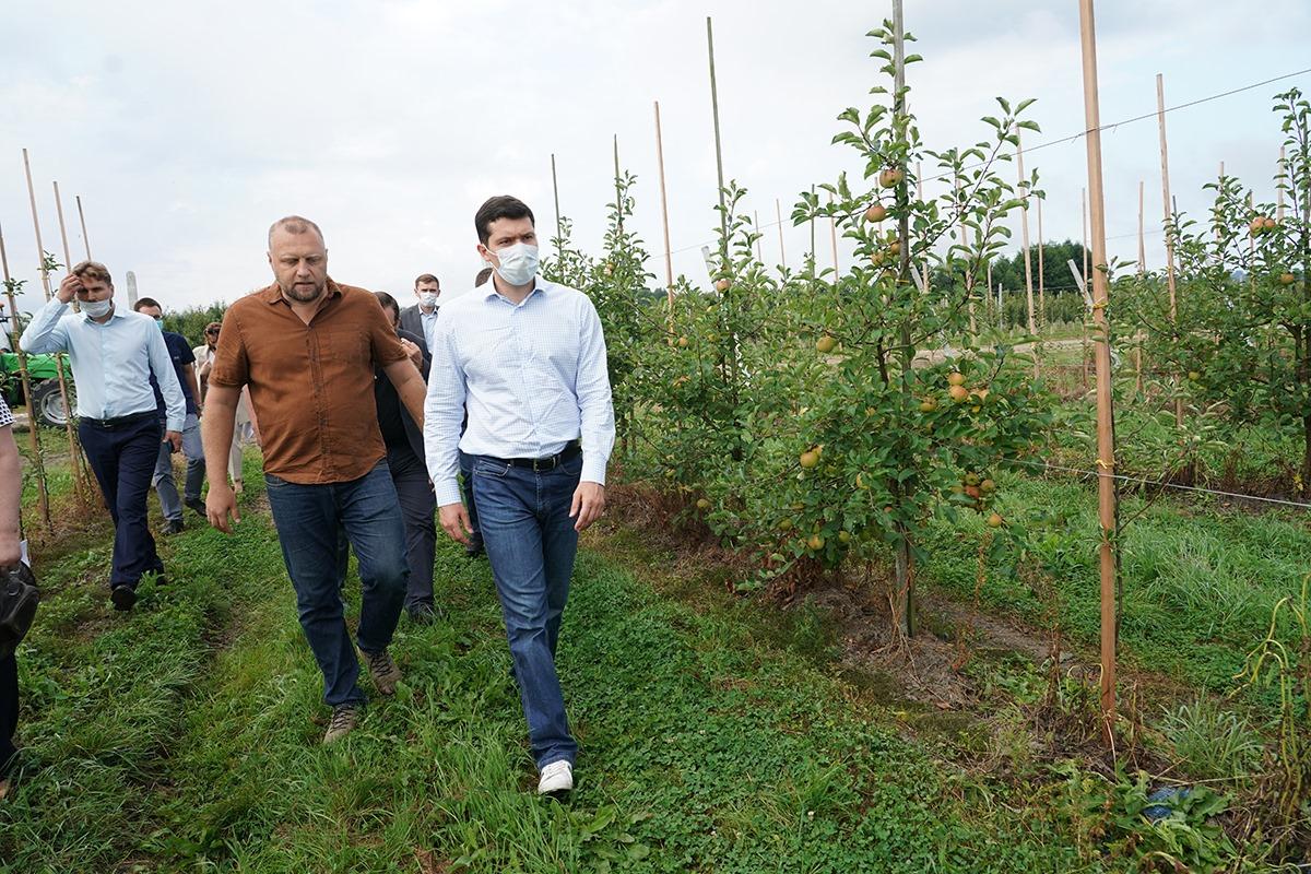 Антон Алиханов указал магистральное направление в сельском хозяйстве Калининградской области