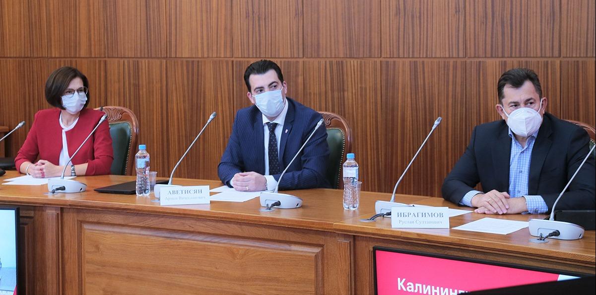 Антон Алиханов обсудил с вице-президентами МТС развитие цифровых проектов в Калининграде