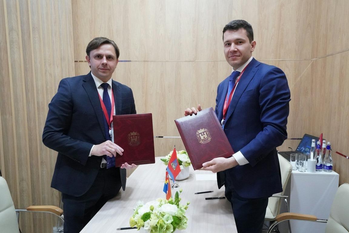 Антон Алиханов и Андрей Клычков
